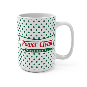 Power Clean Jumbo Coffee Mug