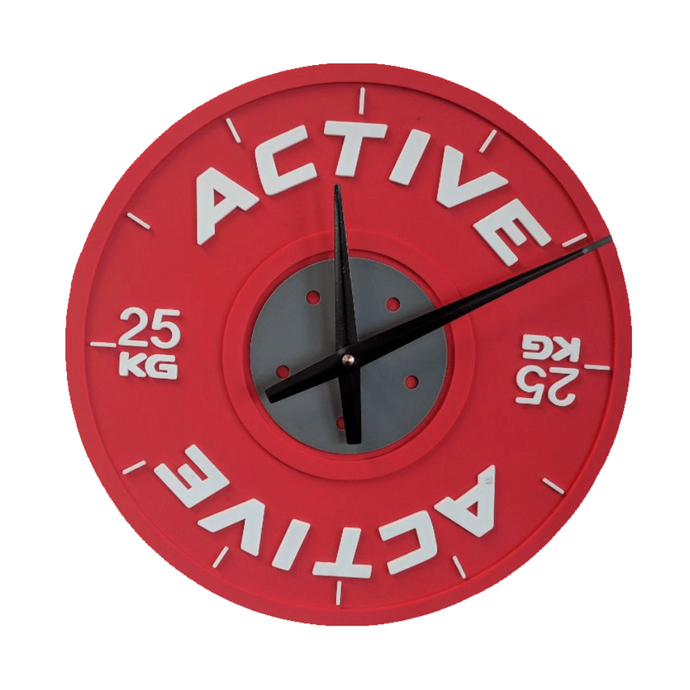 Active Bumper Plate Wall Clock