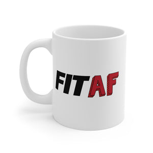 Fit As F*ck Jumbo Coffee Mug