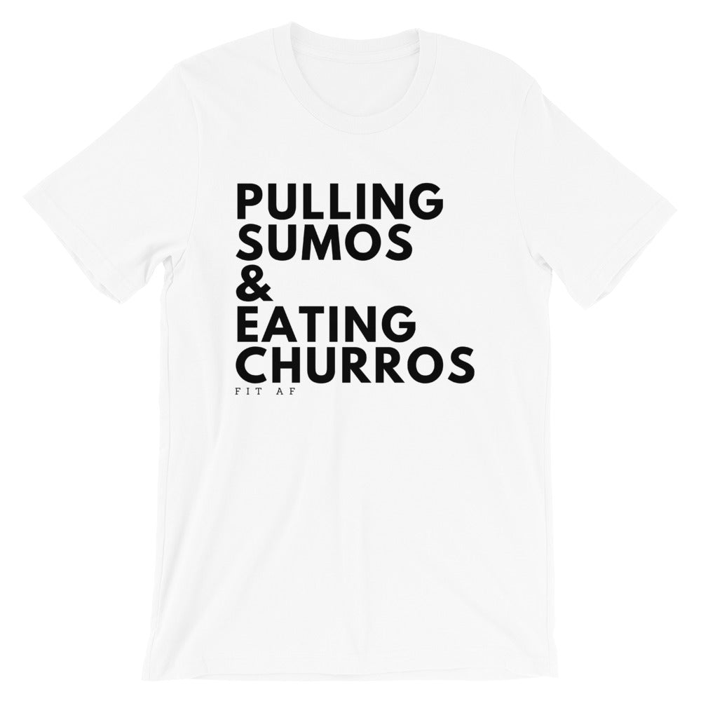 Sumos & Churros Mens Tee