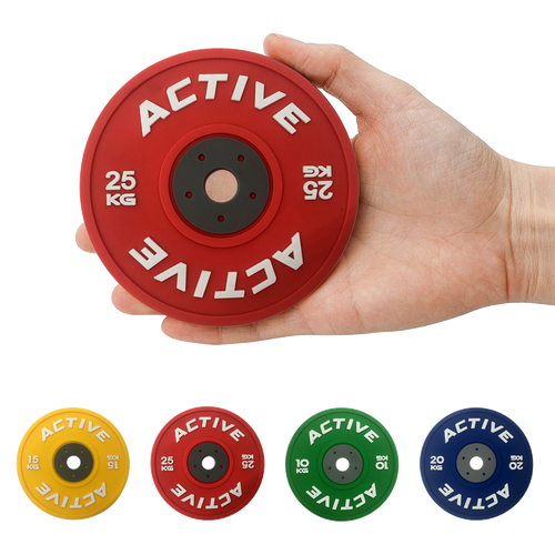 Active Bumper Plate Drink Coasters