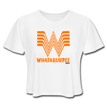 Load image into Gallery viewer, WHATABURPEE Women's Crop Top - white