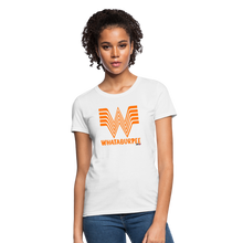 Load image into Gallery viewer, WHATABURGER Women's Tee - white