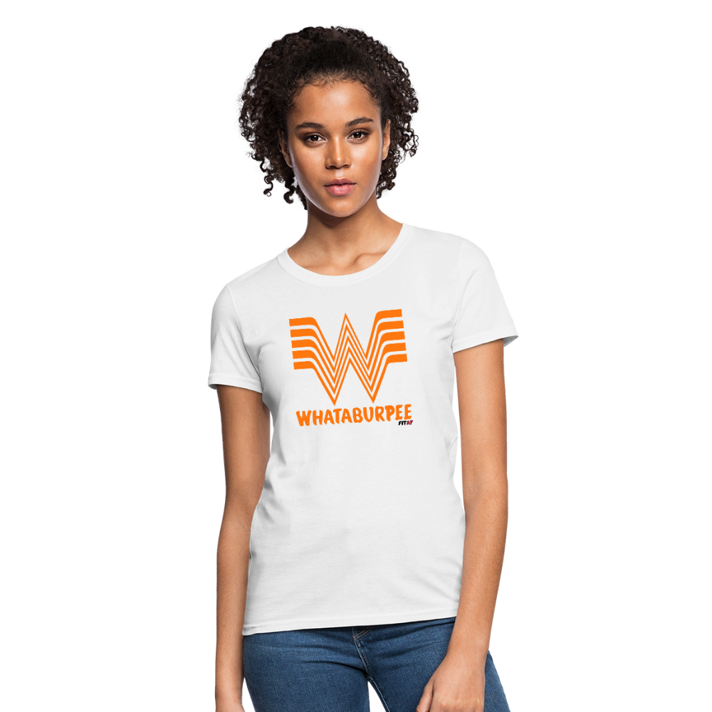 WHATABURGER Women's Tee - white