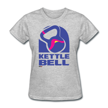 Load image into Gallery viewer, Kettle Bell Women's Tee - heather gray