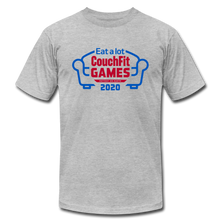 Load image into Gallery viewer, Limited Edition: 2020 CouchFit Games Mens Tee - heather gray