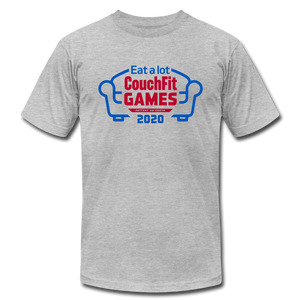 Limited Edition: 2020 CouchFit Games Mens Tee - heather gray