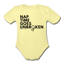 Load image into Gallery viewer, Nap Time Goes Unbroken - washed yellow