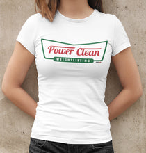 Load image into Gallery viewer, Power Clean Women's Tee