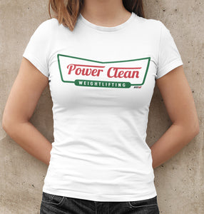 Power Clean Women's Tee