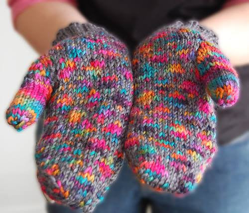 Stained Glass Lattice Mittens