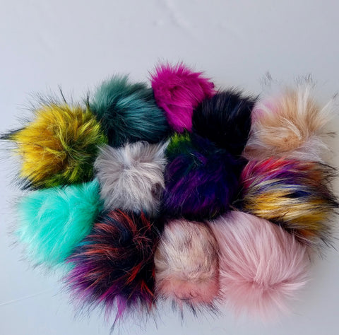 ****New*** Faux Fur Pompom