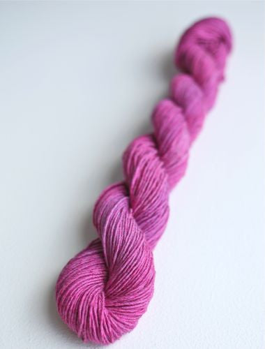 Raspberry Verbena - Cotton Yarn Colorway