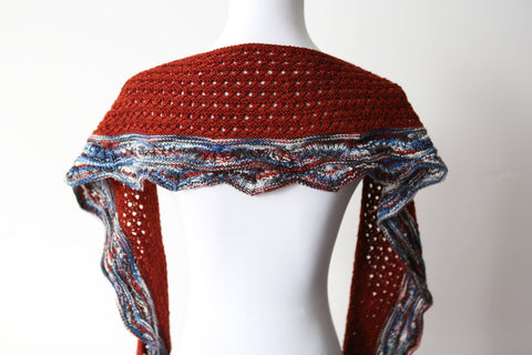 *****NEW***Agate Bay Shawl