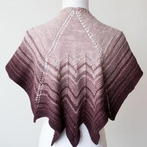 Patterns We Love: The Virginia Shawl