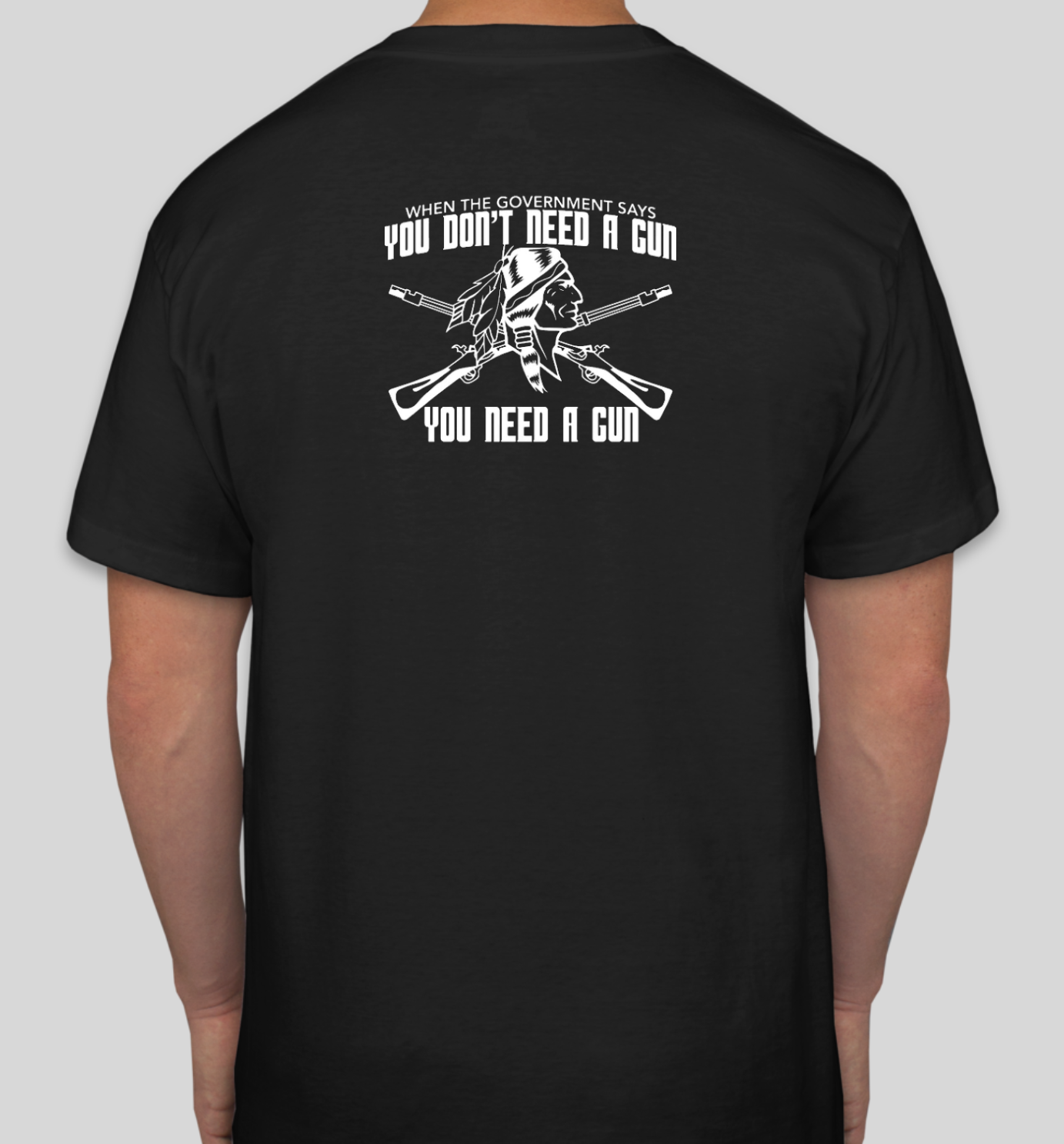 You Don't Need a Gun Tee