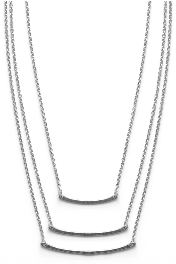 Bar Mini Layer Necklace