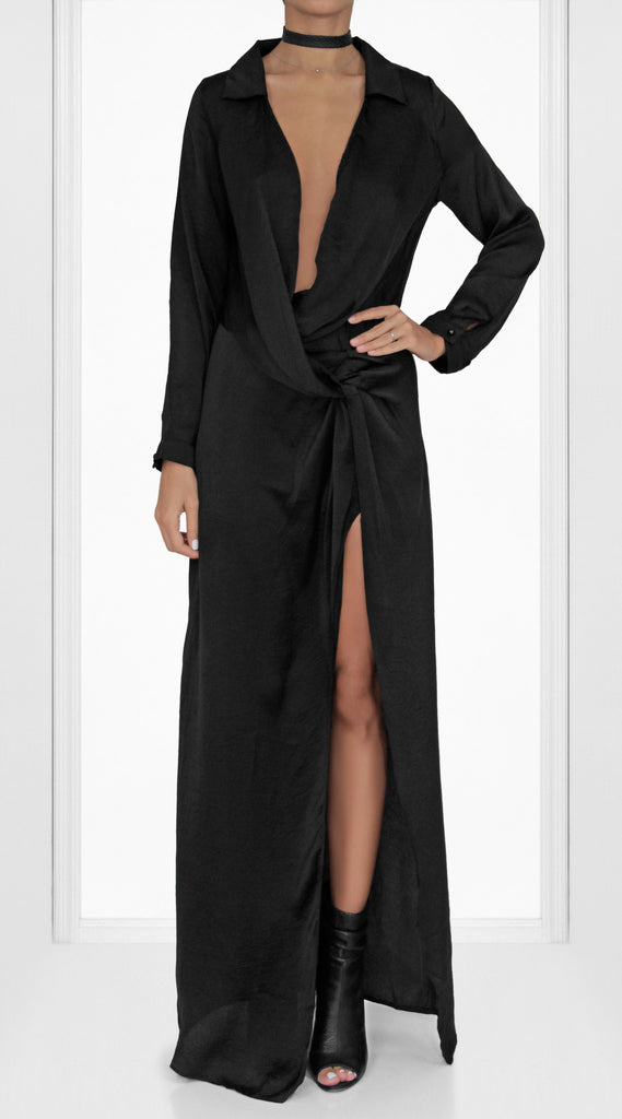 Kylie Maxi Wrap Dress