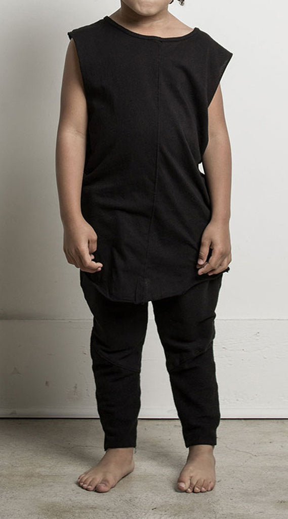 Knomad Muscle Long Tee - Black