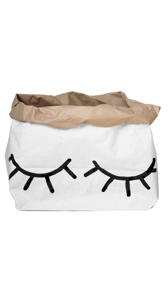 Small Storage Bag - Closed Eyes