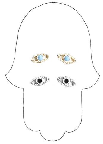 ✡ PYRAMID EYE EARRING ✡