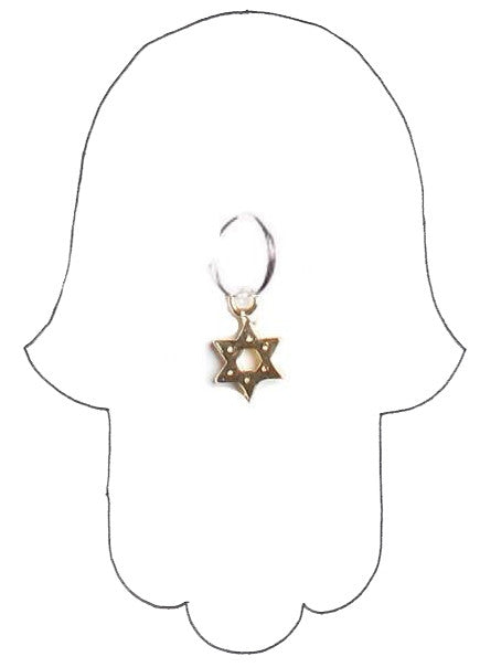 ✡ TINY BUT MIGHTY STAR HOOP EARRING ✡