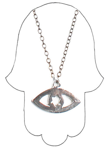 ✡ STARRY EYED JUDAH PENDANT ✡