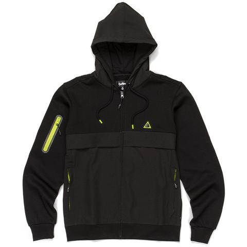 Ninety Five Nylon / Fleece Hooded Tech Jacket