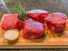 Load image into Gallery viewer, Option #16: Premium 30-Day Aged Certified USDA CHOICE RESERVE Center Cut Filet Mignon Case (10lbs) - click for details