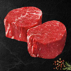 Option #16: Premium 30-Day Aged Certified USDA CHOICE RESERVE Center Cut Filet Mignon Case (10lbs) - click for details