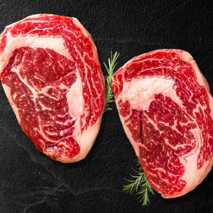 Option #14: Premium 30-Day Aged Certified USDA PRIME Ribeye Steak Case (12lbs) - click for details
