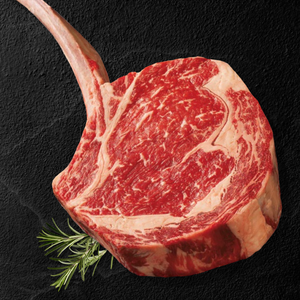 Option #20: Premium 30-Day Aged Certified USDA PRIME Tomahawk Steak Case (5.5-6lbs) - click for details