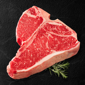Option #19: Premium 30-Day Aged USDA Certified Angus Beef Natural Porterhouse Steak Case (6lbs) - click for details