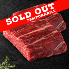 Load image into Gallery viewer, Option #21: Premium 30-Day Aged Certified USDA CHOICE RESERVE Juicy, Juicy, Juicy Ribeye Cap Royale Spinalis Case (10lbs) - click for details