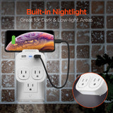 HYPERGEAR Multi-Charger + Holder + Nightlight - Dual Voltage