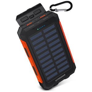 HYPERGEAR Solar 10000mAh Power Bank