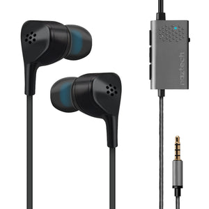 Naztech X1 Active Noise Cancelling Wired Earbuds