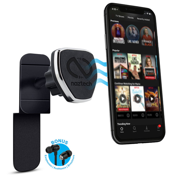 Naztech MagBuddy™ In-Flight Magnetic Phone Mount