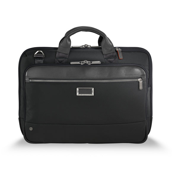 Briggs & Riley @Work Medium Slim Brief Black