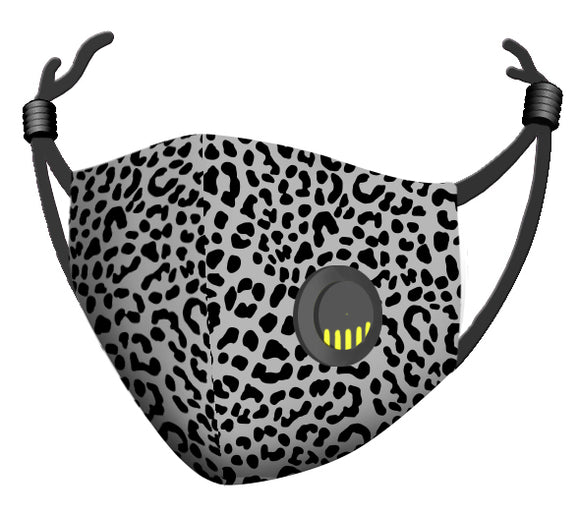 Zorbitz My Mask Comfort Plus Face Mask w/Breather - Animal Print