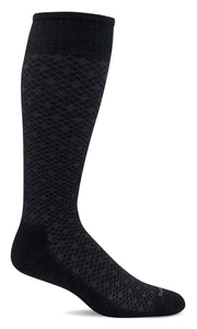 SockWell Men's Featherweight Sock Moderate Graduated Compression 15-20mmHg