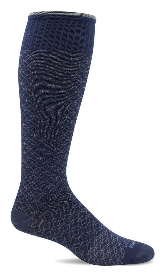 SockWell Women's Featherweight Fancy Moderate Graduated Compression 15-20mmHg