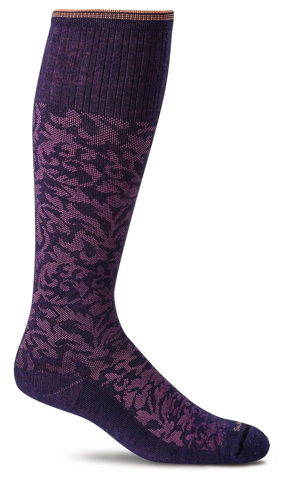 SockWell Women's Damask Moderate Graduated Compression  15-20mmHg