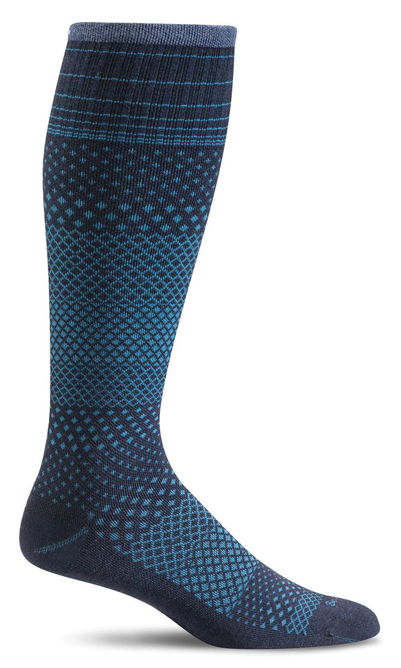 SockWell Women's Micro Grade Moderate Graduated Compression 15-20mmHg