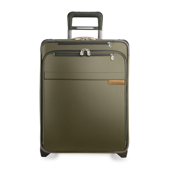 Briggs & Riley Baseline Intl. Carry-On Wide-Body Olive