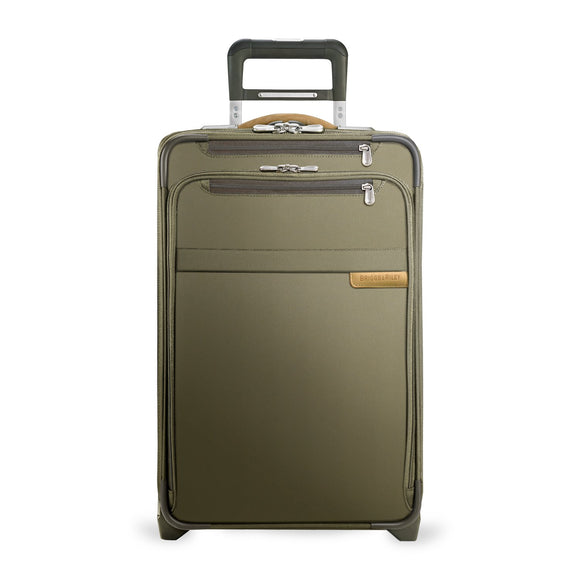 Briggs & Riley Baseline Domestic Carry-On Expandable Olive