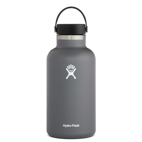 Hydroflask 64 Oz. Wide Mouth Insulated Bottle - Stone