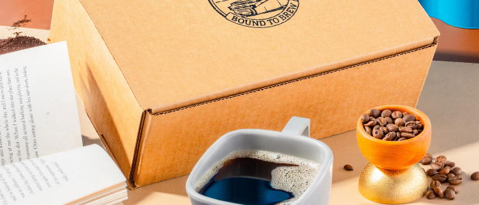 Bound to Brew coffee and book subscription box