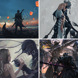 GhostBlade | 4x Miniprint Set