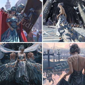 Princess | 4x Miniprint Set 2